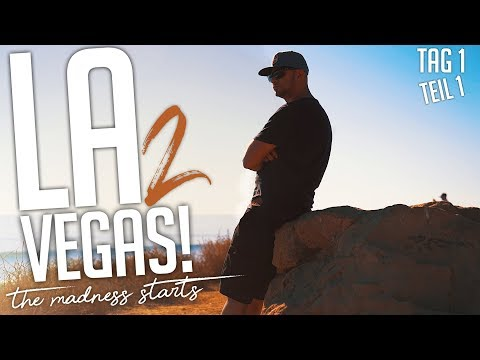 JP Performance - Los Angeles to Vegas!   the Madness starts   Tag 1   Teil 1