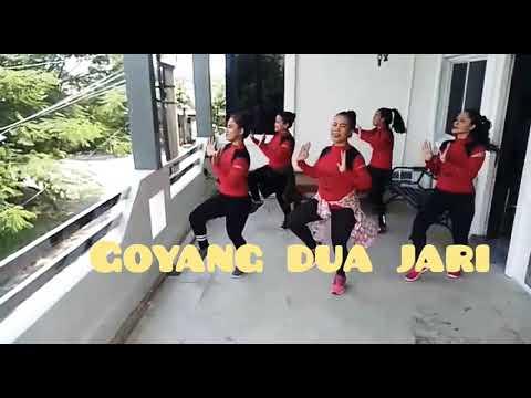 Viral!!! Goyang Dua Jari By Sandrina// With Uki Tea, Dian Studio Bekasi