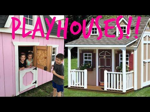 KIDS PLAYHOUSE PLANS