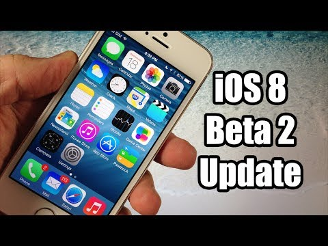 IOS 8 Beta 2 Update And Changes