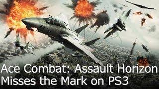 Ace Combat Assault Horizon - Graphics Comparison/Framerate Test for PS3/360/PC