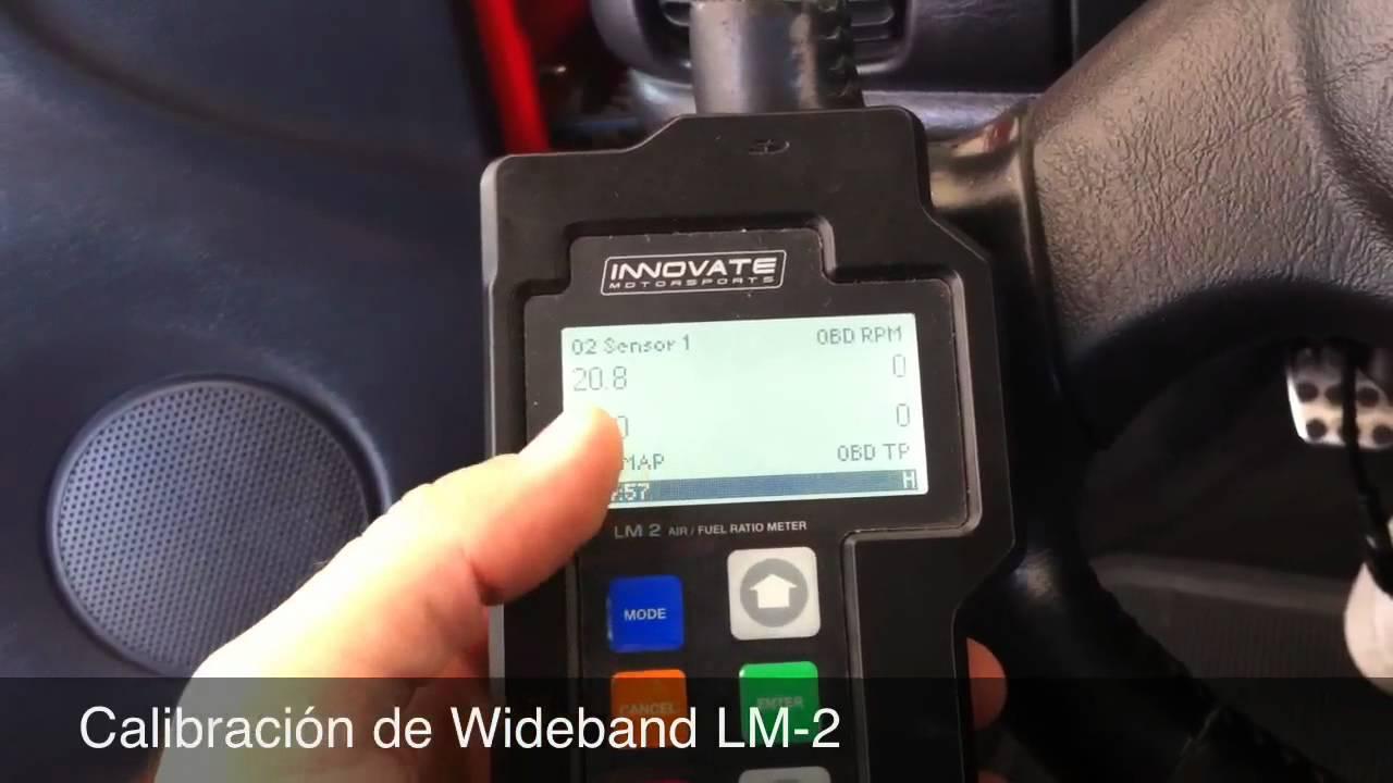 Calibración de Wideband LM-2 - YouTube