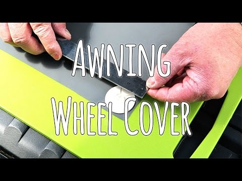 fitting a caravan wheel arch cover for awning youtube