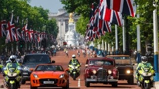 Jaguar Land Rover Heritage Drive for The Queen