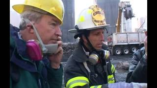Movie 911 Jon Snow Visits Ground Zero Two Months After The Attack Channel 4 News from