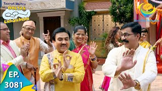 Taarak Mehta Ka Ooltah Chashmah - Ep 3081 - Full Episode - 15th January, 2021