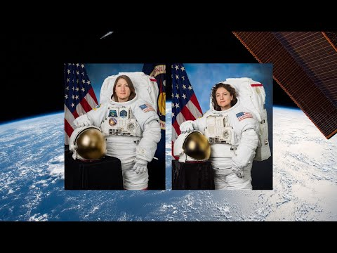 Tracy Lynn - NASA Astronauts Are Space Walking Right Now And We Can Watch!