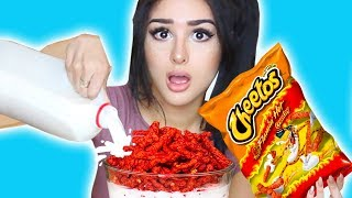 WEIRD Food Combinations People LOVE! (EATING GROSS DIY FOOD)