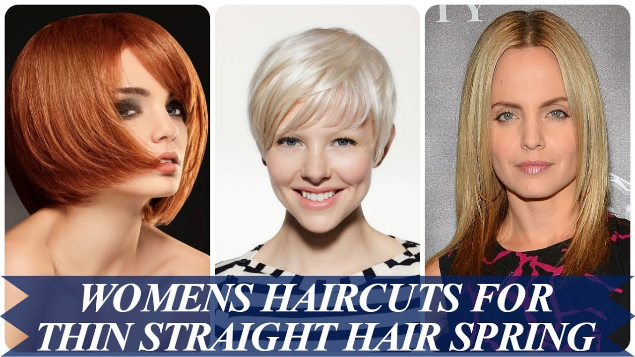 20 Best Ideas About Womens Haircuts For Thin Straight Hair