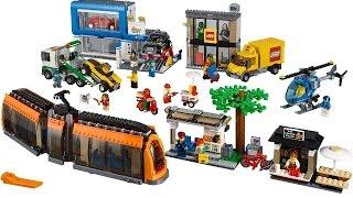 LEGO CITY 60097 городская площадь  LEGO CITY 60097 city square