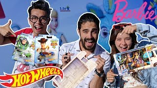 Cómo se fabrican los HOT WHEELS y las BARBIES de Toy Story