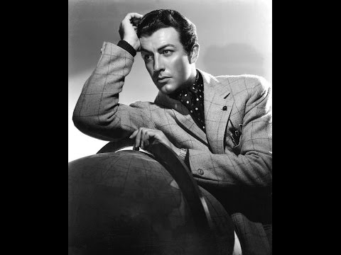 Robert Taylor The most beautiful actors of old Hollywood