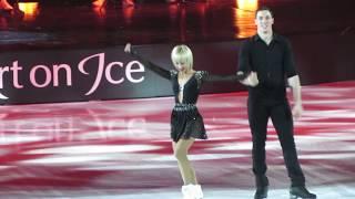 "Art on Ice 2019 - Aljona Savchenko & Bruno Massot - Stefanie Heinzmann ""On Fire"""