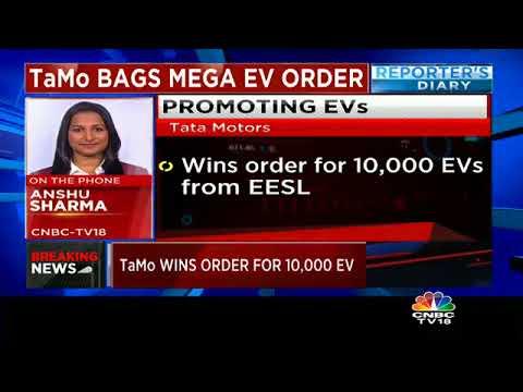 Tata Motors Bags Mega EV Order