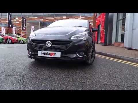 2015 Vauxhall CORSA 1.4 16V TURBO 150PS BLACK EDITION 3DR - DELIVERY MILES