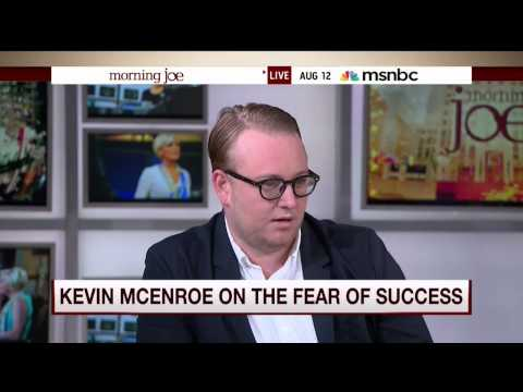 Author Kevin McEnroe talks with Mike Barnicle On Morning Joe (12 August 2015)