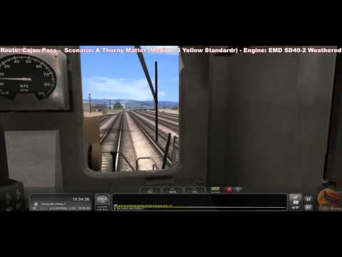 Train Simulator 2015: Cajon Pass A Thorny Matter EMD SD40 2 Weathered