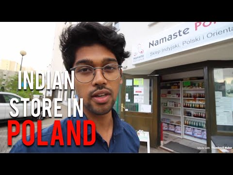 Visiting INDIAN STORE IN WARSAW, POLAND 🇵🇱