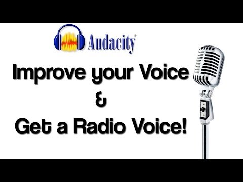 Audacity: Improve your Voice TUTORIAL for Commentary & Podcasts - Radio Voice & Voice Effects