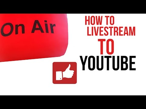 How To Use YouTube Live Streaming Mobile App