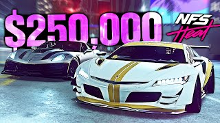 Need for Speed HEAT - $250,000 Budget Build! (Widebody NSX vs ZR1)