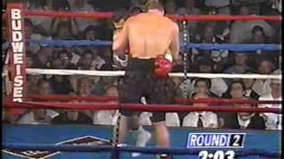 Tommy Morrison vs. Tui Toia