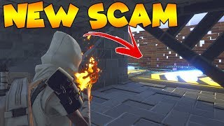 *NEW SCAM* Boost Through Walls Scam! (Scammer Gets Scammed) Fortnite Save The World