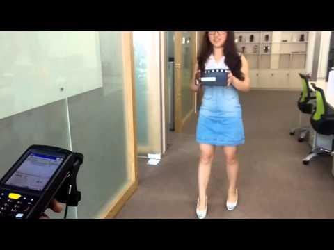 UHF RFID reader distance test