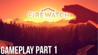 Firewatch - Stealing Booze and Skinny Dipping! - Let