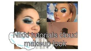 My version of Nikki tutorials cloud eye look
