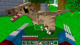MOCE WOLVERINE'A i RAPTOR W PARKU DINOZAURÓW - Minecraft: Przygody z Flotharem #28