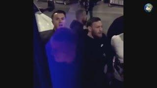 Конор МакГрегор напал на автобус Нурмагомедова и участниками UFC