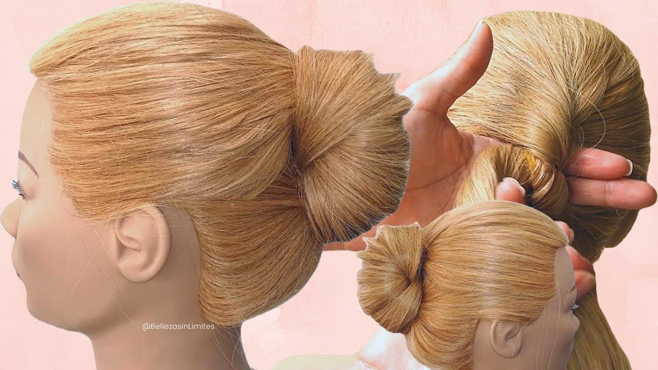 Peinados Recogidos Fáciles Rápidos y Sencillos 😱 by BSL