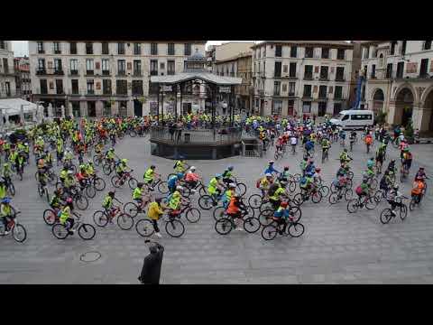 Quedada de bicicletas en Tudela