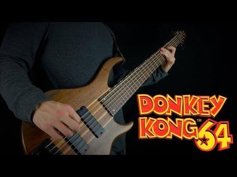 DONKEY KONG 64 - JUNGLE JAPES || HARD ROCK COVER (BASS COVER)