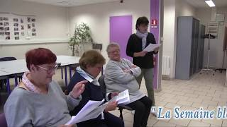 La Semaine bleue à Avallon (89) Atelier Thèâtre
