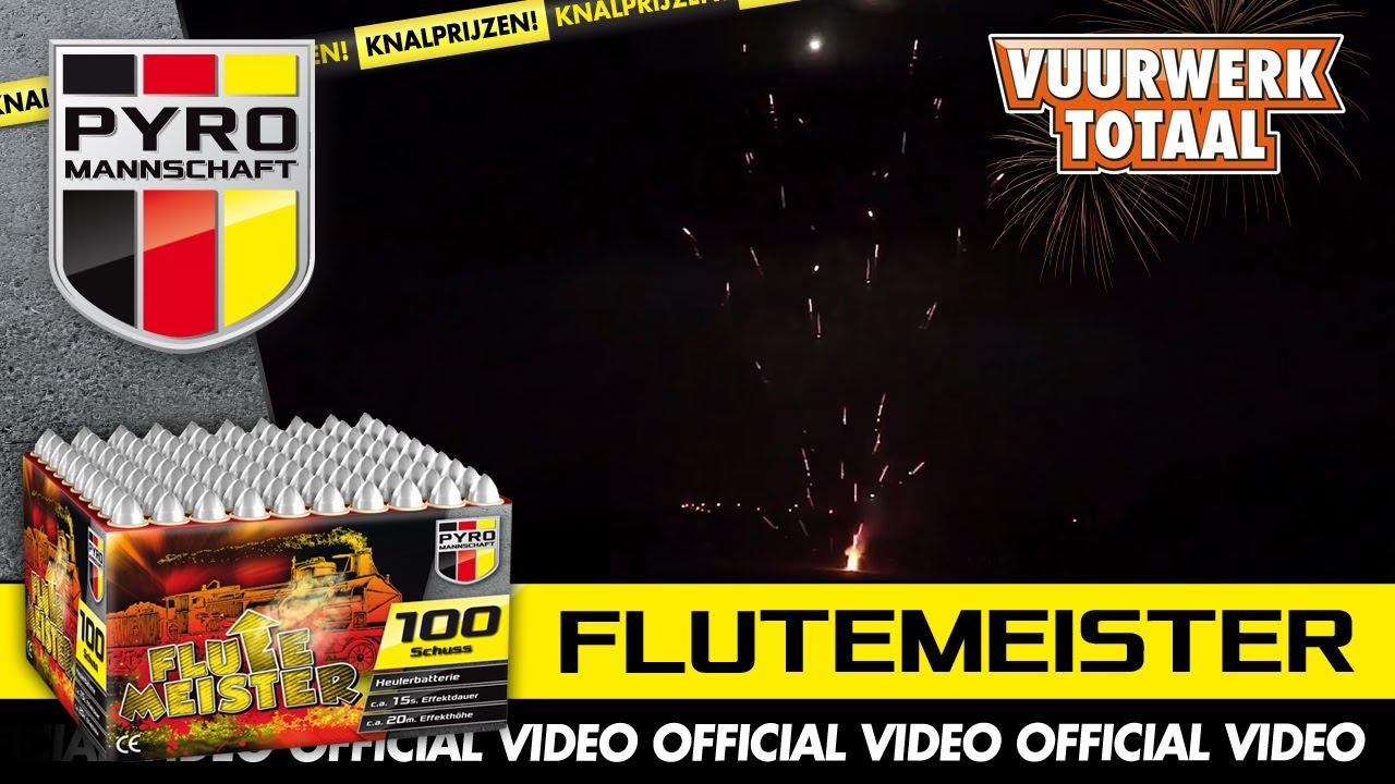 Flutemeister Pyro Mannschaft Vuurwerk Vuurwerktotaal Official