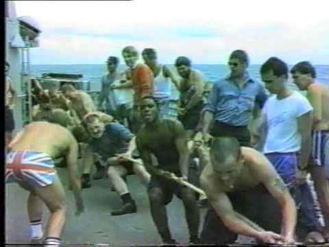 HMS Diomede - Ships Video - 1987 Deployment