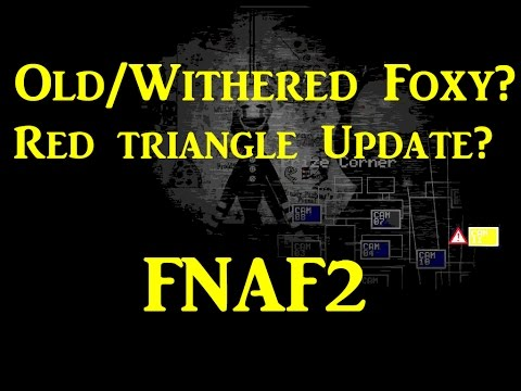 Where Is Old/Withered Foxy? Colored Marionette Image+Physical Analysis!-Five Nights At Freddy's 2