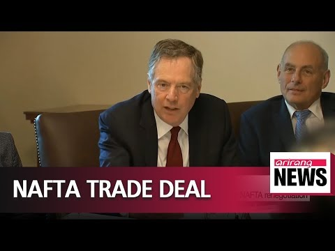 USTR Robert Lighthizer hopeful for breakthrough on NAFTA renegotiation