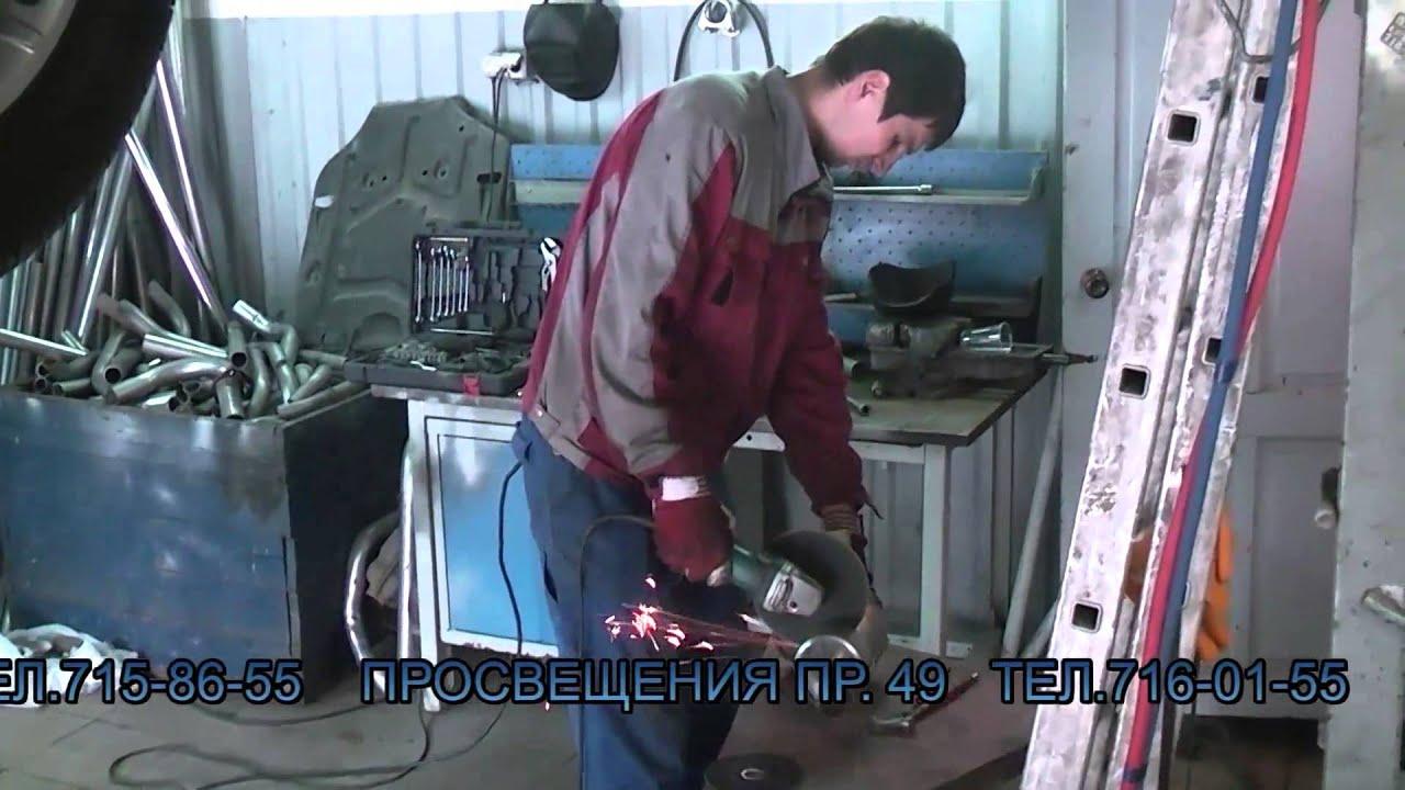 Удаление сажевого фильтра и замена катализатора на  Mercedes Benz .Удаление сажевого фильтра в СПБ.