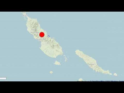 Major 8.0 Magnitude Earthquake Strikes Near Solomon Islands and Papua New Guinea