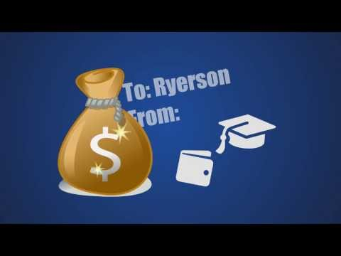 How do endowment funds work at Ryerson?