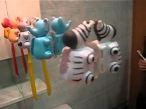 Контейнер для зубной щетки с УФ-стерилизацией - YouTube