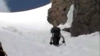 Nokhu Crags - Grand Central Couloir