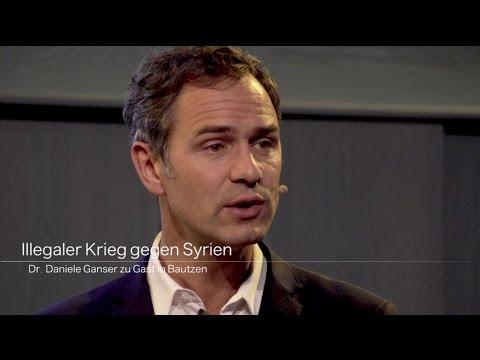 (CC) Illegaler Krieg gegen Syrien - Dr. Daniele Ganser zu Gast in Bautzen (31.10.2016)