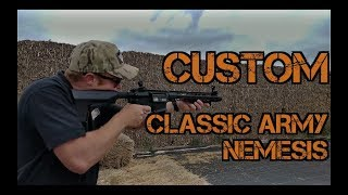 Custom Classic Army Nemesis tested by Jarrod from Fox Airsoft