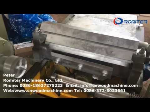 Automatic Spindle Type Wood Plate Rotary Cutting Machine for South America