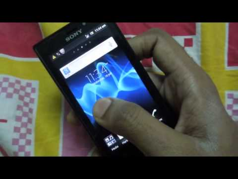 Sony Xperia Sola : Touchscreen Problems.flv