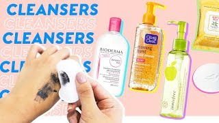 Facial Cleansers & Makeup Removers 🌝💦6 Best Ways to Properly Wash Your Face (for all skin types)